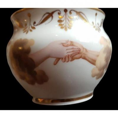 Vienna Porcelain Coffee Cup XIX C
