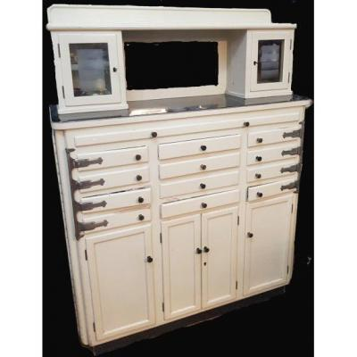 Professional Cabinet Cabinet For Dentist Tools From The 1950s XX S