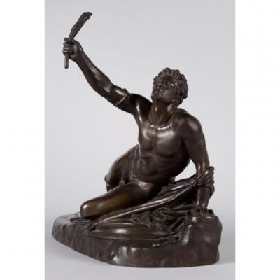 Jean-Pierre Cortot (1787-1843). Soldat De Marathon Annonçant La Victoire.