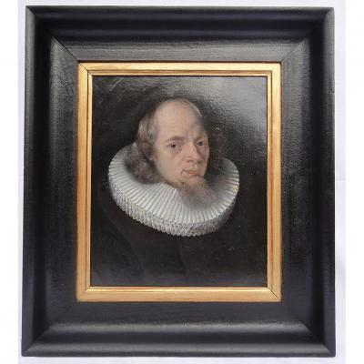 Ecole Flamande De La 1ère Moitié Du XVIIe Siècle. Suiveur De Cornélis De Vos (1584-1651)