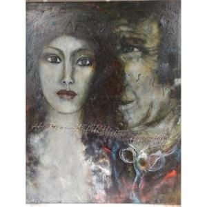 Oil On Canvas By Raya Sorkine