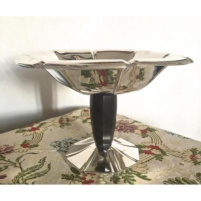 Art Deco Cup Silver Metal