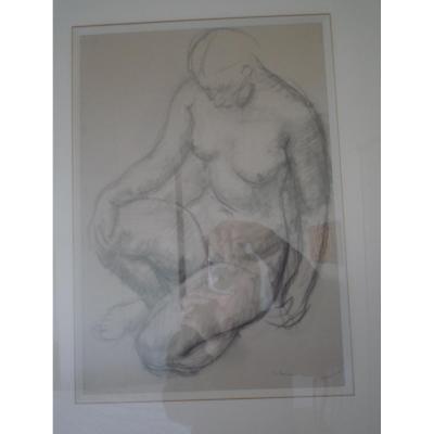 Leon Severac Drawing