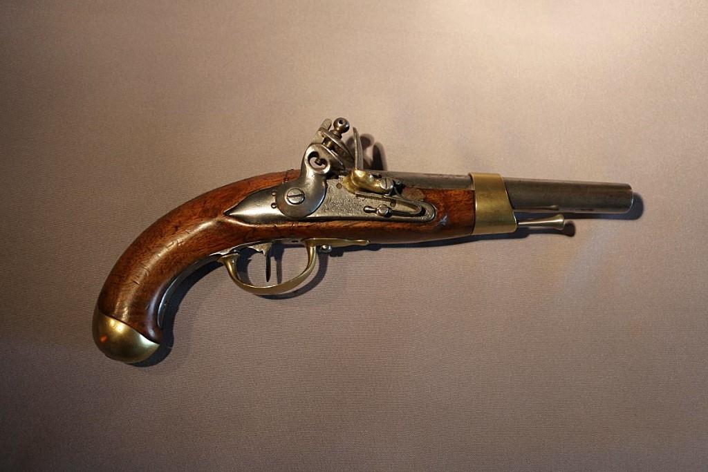Pistolet De Cavalerie De 1807. Manuf. Charleville-Maizières