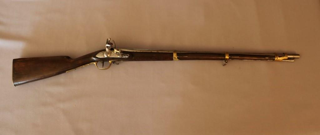 Fusil d'Infanterie Modèle An IX. Longueur : 97,5 Cm