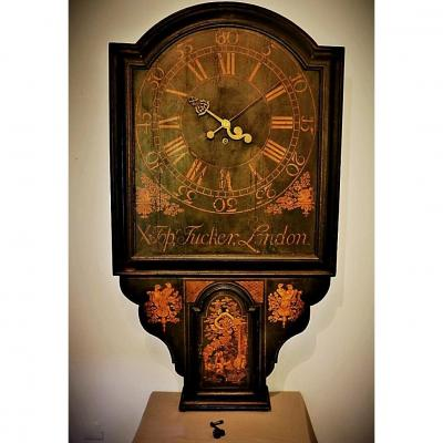 "Pendule ""Act Of Parliament"" Ou ""Tavern Clock"". XVIIIe"