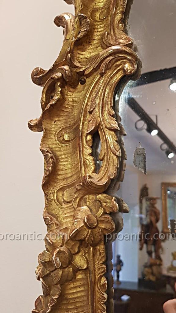 Miroir d'Epoque Louis XV XVIII ème