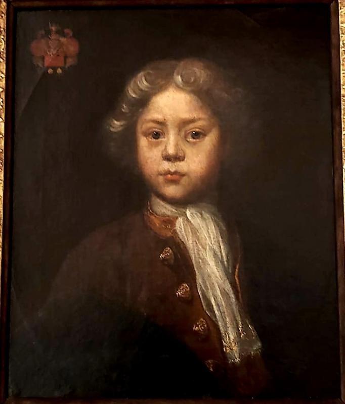 Portrait d'Enfant Ecole Anglaise Début XVIII ème-photo-2