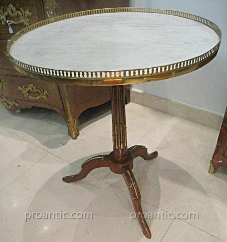 Tripod Pedestal Table Louis XVI XVIII