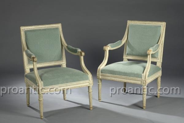 Pair Of So-called Armchairs
