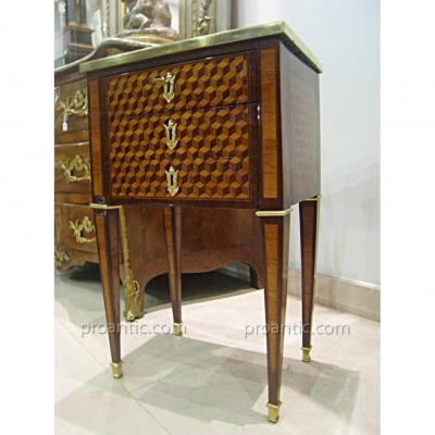 Table De Salon Epoque Louis XVI , XVIII ème