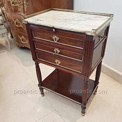 Curieuse Table De Salon Epoque Louis XVI XVIII ème