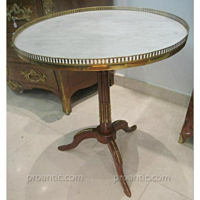 Tripod Pedestal Table Louis XVI XVIII