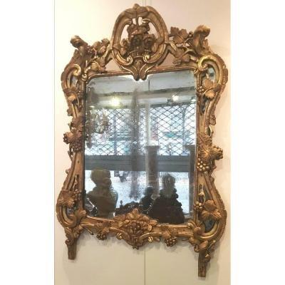 Provencal Mirror Louis XV Period XVIII Th