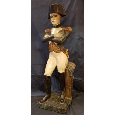 Statue Polychrome De Napoléon XIX ème
