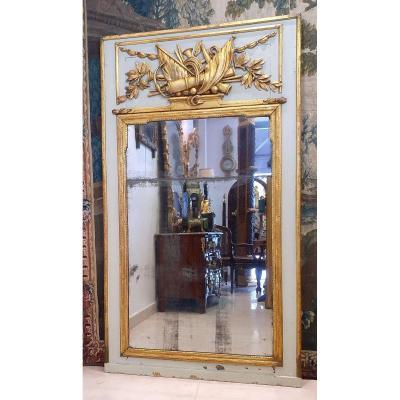 Grand Trumeau d'Epoque Directoire XVIII ème