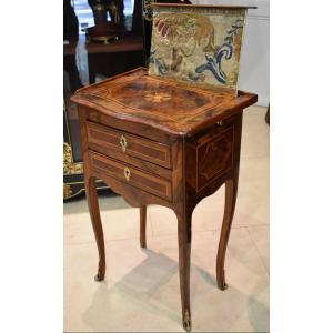 Table De Salon En Marqueterie Epoque Louis XV XVIII ème