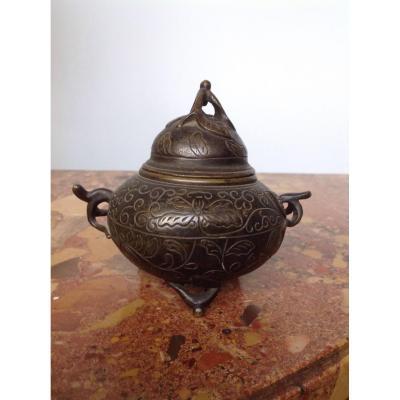 Petit Pot En Bronze De La Maison Maquet