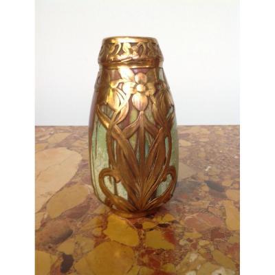 Vase Céramique Art Nouveau