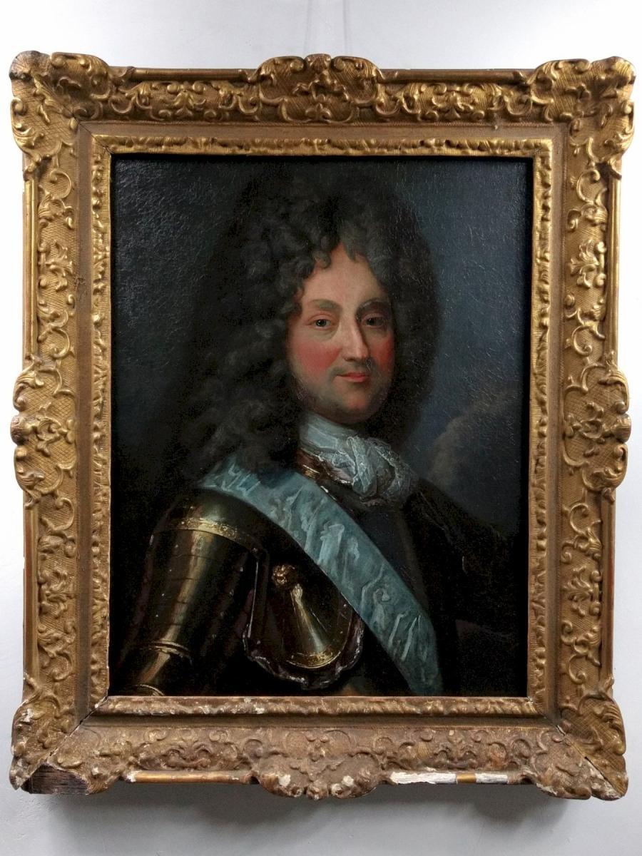 Portrait De Philippe d'Orléans, Régent De France, d'Après Jean-baptiste Santerre