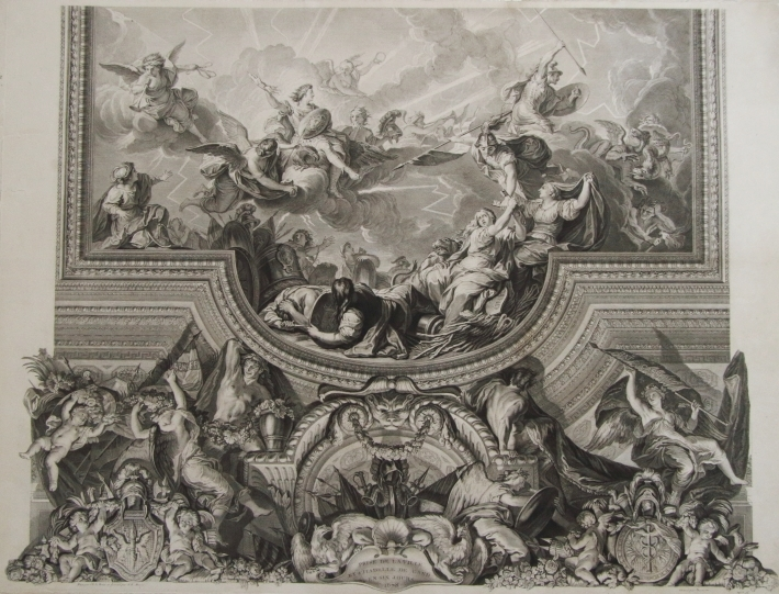 Prise De Gand Par Louis XIV, Galerie des Glaces de Versailles