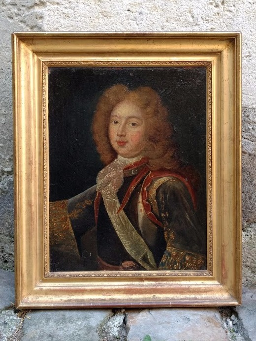 Portrait Of The Grand Dauphin, Son Of Louis XIV, Late Seventeenth Century