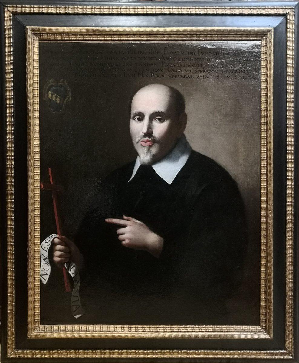Portrait De François Cerretani,  XVIIe Siècle