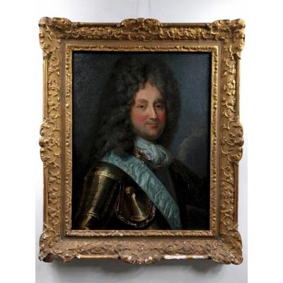 Portrait Of Philippe d'Orleans, Regent De France, After Jean-baptiste Santerre