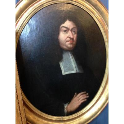 Portrait d'Un Parlementaire XVIIe