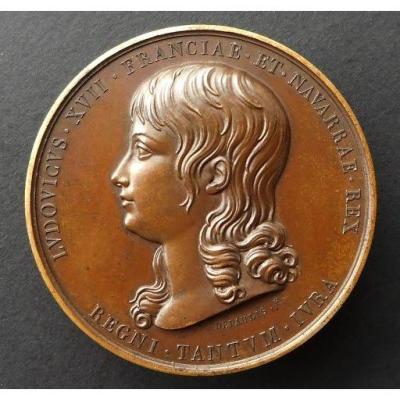 Médaille Louis XVII , Prison Du Temple, XIXe