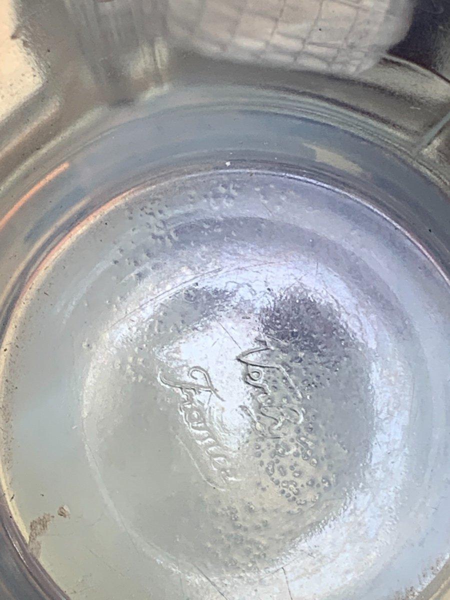 Verlys - Vase  opalescent à Décor De Chardons -photo-4