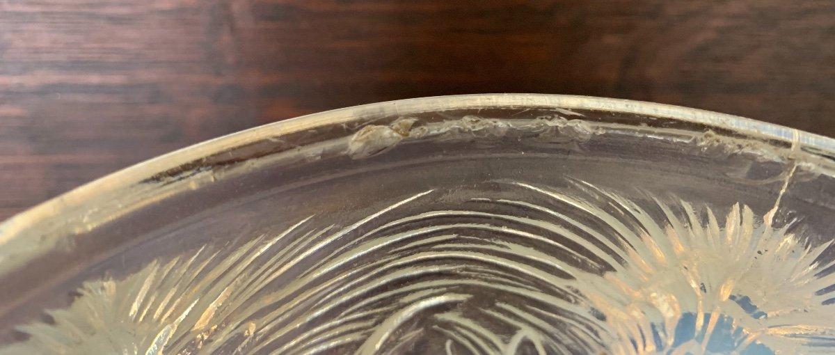 Verlys - Vase  opalescent à Décor De Chardons -photo-1