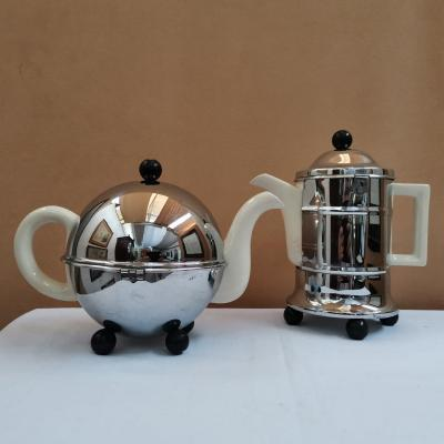 Teapot And Coffee Maker. Heatmaster England