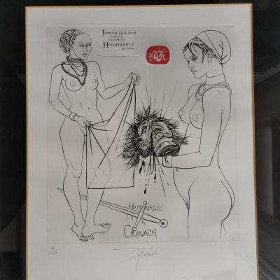 2 Lithographs By Pierre Yves Trémois