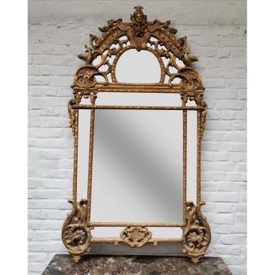 Miroir époque Régence. 183 X 105 Cm