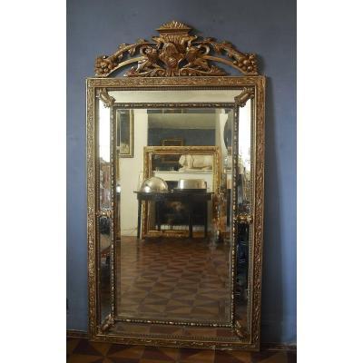 Grand Miroir à Parclose 184 X 100 -  Napoléon III