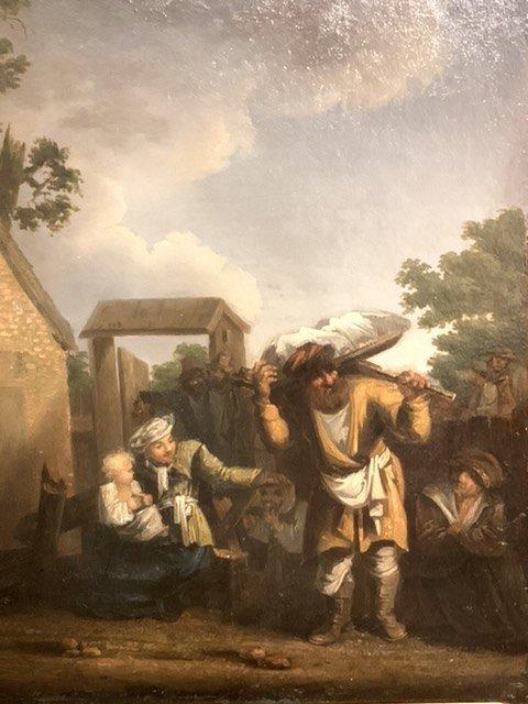 Jan De Groot (1650-1726)  Oil On Panel.