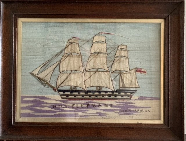 Sailor's Woolwork (woolies). Of à Royal Navy Ship