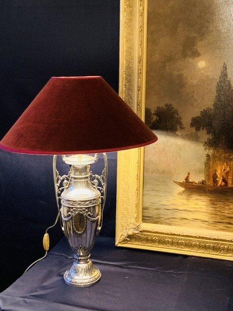 Grande Lampe De Style Louis XVI.