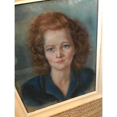 Portrait Pastel Femme