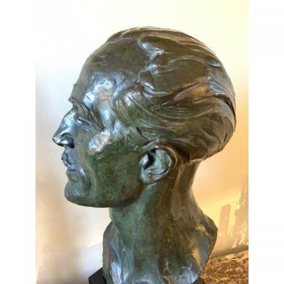 Francesco LA MONACA , sculpture bronze,  fondeur Valsuani
