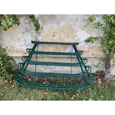 Old Garden Plant Holder Wrought Iron.