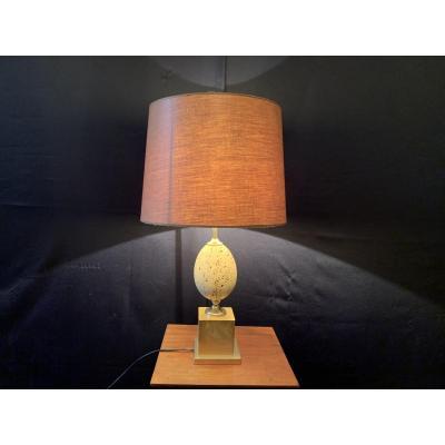 Lampe œuf  P.Barbier