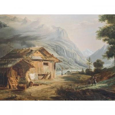 Tableau Paysage Suisse.