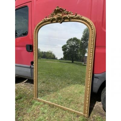 Large Mirror Of Twentieth Period
