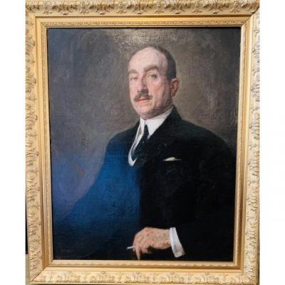 Large Portrait Of A Man.