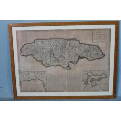 "Map ""isle Of Jamaica"""