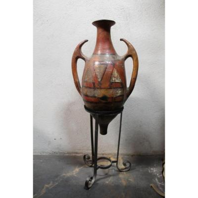 Terracotta Amphora Of North Africa