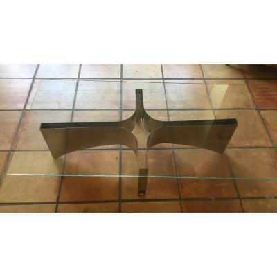 Table Basse Inox Dlg De Francois Monnet