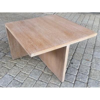 Table Basse Chene Ceruse Dlg Suzanne Guiguichon
